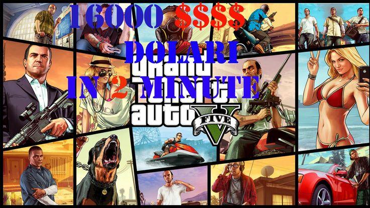 Grand Theft Auto V Gta5 : ep.9 16000 Dolari in 2 minute