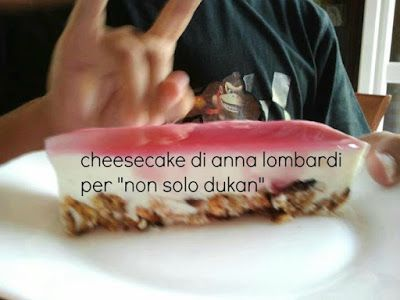 Non Solo Dukan: Cheesecake con glassa al mirtillo