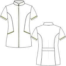 Resultado de imagen para patrones de vestidos para enfermeras