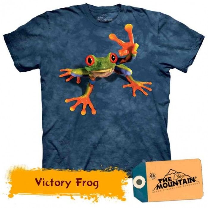 Tricouri The Mountain – Tricou Victory Frog