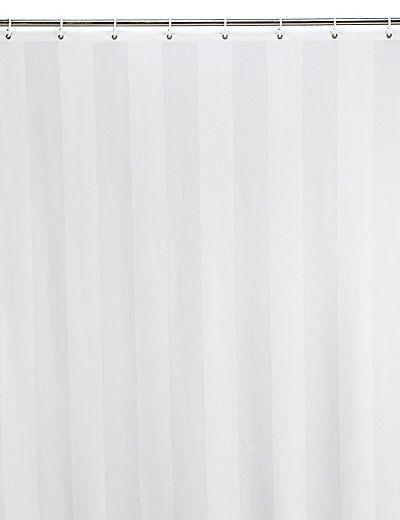 Woven Regency Stripe Shower Curtains