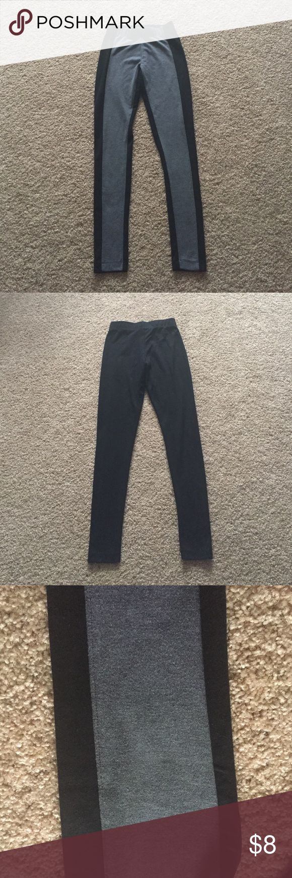 Black and gray leggings In good used condition Mossimo Supply Co. Pants Leggings