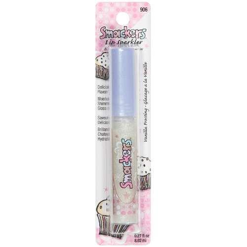 Bonne Bell Smackers Moisturizing Shimmer Lip Sparkler, Vanilla Frosting 906