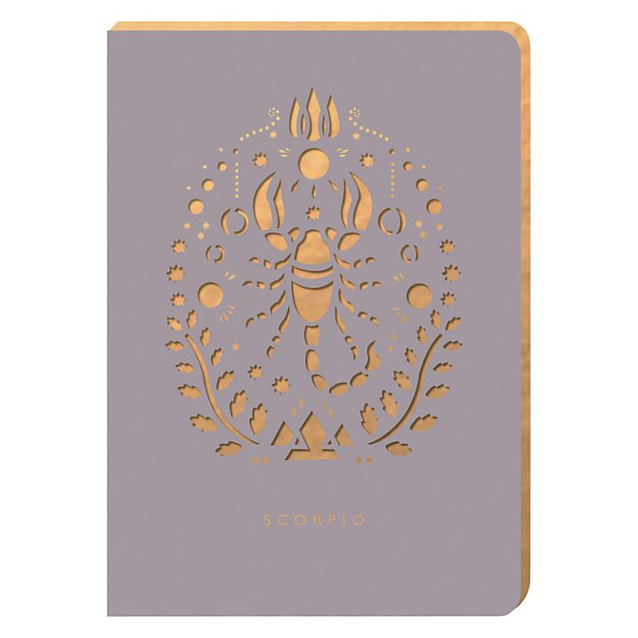 Buy Portico Zodiac Collection A6 Notebook, Scorpio Online at johnlewis.com