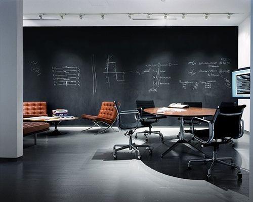 Chalk board wall, love it