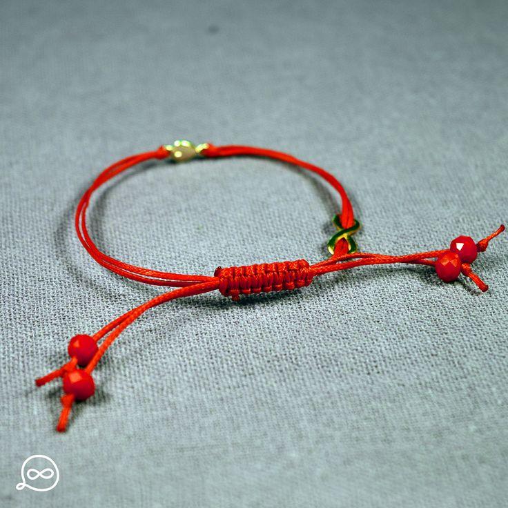 Passion Red Beads Bracelet. #tufatufa