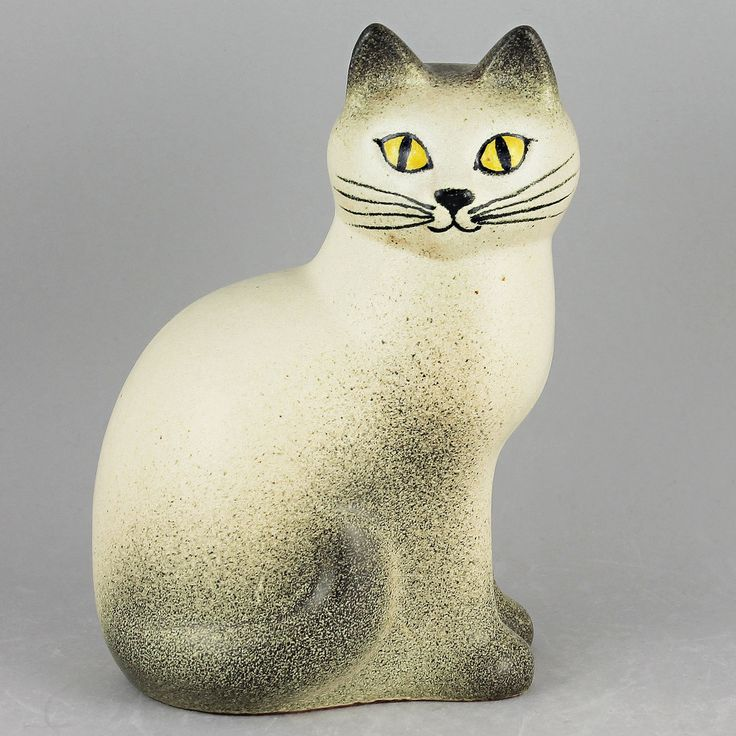 Lisa Larson (Mans 1994) Early Production White Cat
