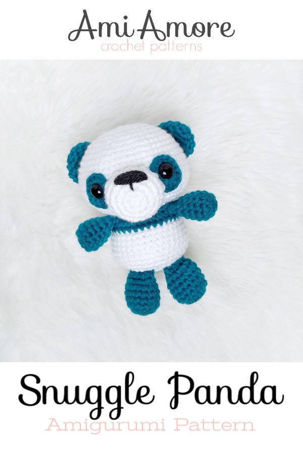 Adorable Panda Bear Amigurumi Free Crochet Pattern - All Crochet ...   900x600