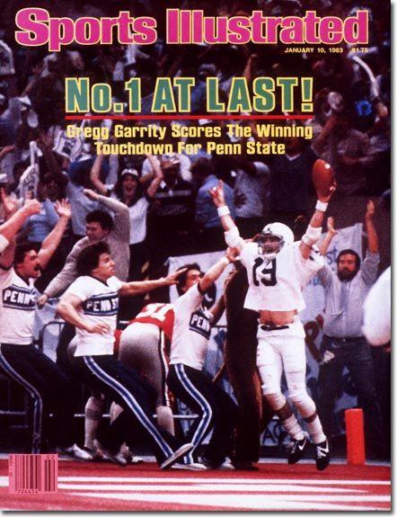 PENN STATE – NEWSWORTHY – Gregg Garrity, Football, Penn State University Nittany Lions