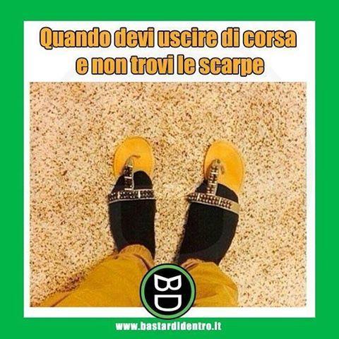 Quante volte succede questo? #calze #infradito Tagga i tuoi amici e #condividi #bastardidentro www.bastardidentro.it