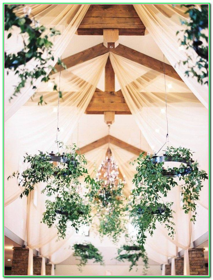 Great Ideas To Make Your Wedding Special   Wedding ceiling ...