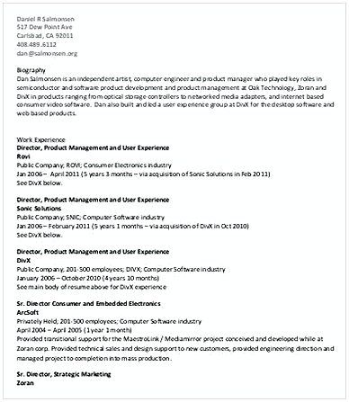 Best 25+ Sample of resume ideas on Pinterest Sample of letter - information technology director resume