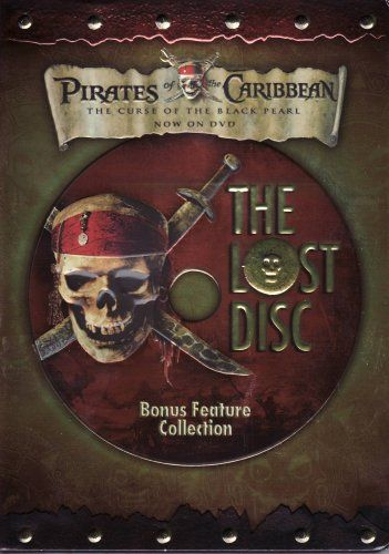 Pirates of the Caribbean - The Curse of the Black Pearl (The Lost Disc) @ niftywarehouse.com #NiftyWarehouse #PiratesOfTheCarribbean #Pirates #Movies #Pirate