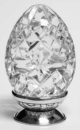 Waterford Crystal Egg, or glass artsy fartsy thing from Risky Business. Almost. This one isn't quite as sexy.