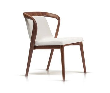 precious modern chair. Marconato Maurizio  Terry Zappa sign a stylish armchair where the massive wood is worked in 611 best Dining Chairs Tables images on Pinterest chair