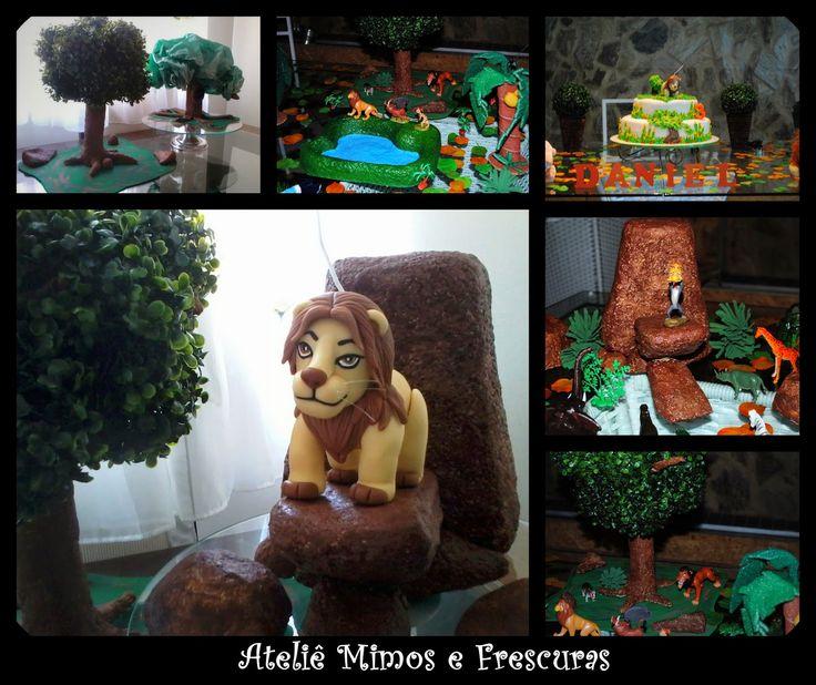 Ateliê Mimos e Frescuras: O Rei Leão