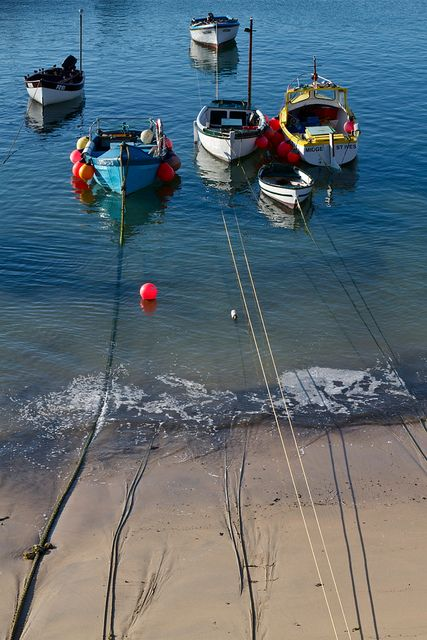 Why not hire a boat and captain the shores of Cornwall?