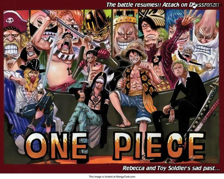 One Piece Manga ch.750 Page 1