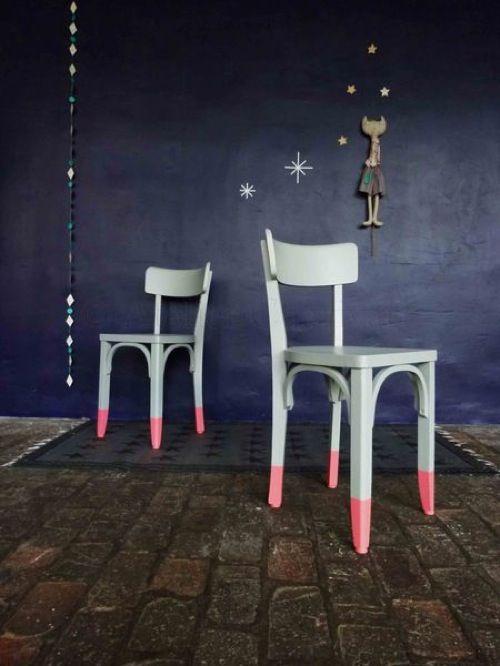 Ooh La La: Dipped Chairs from Atelier Charivari