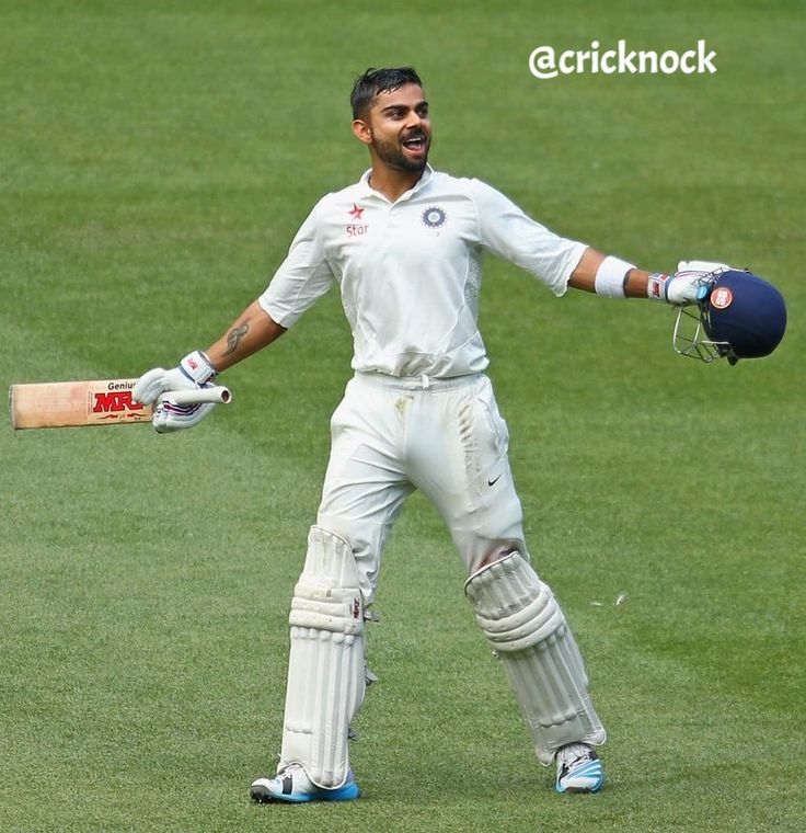 Virat Kohli hits his 50th international century now the joint fastest with Hashim Amla