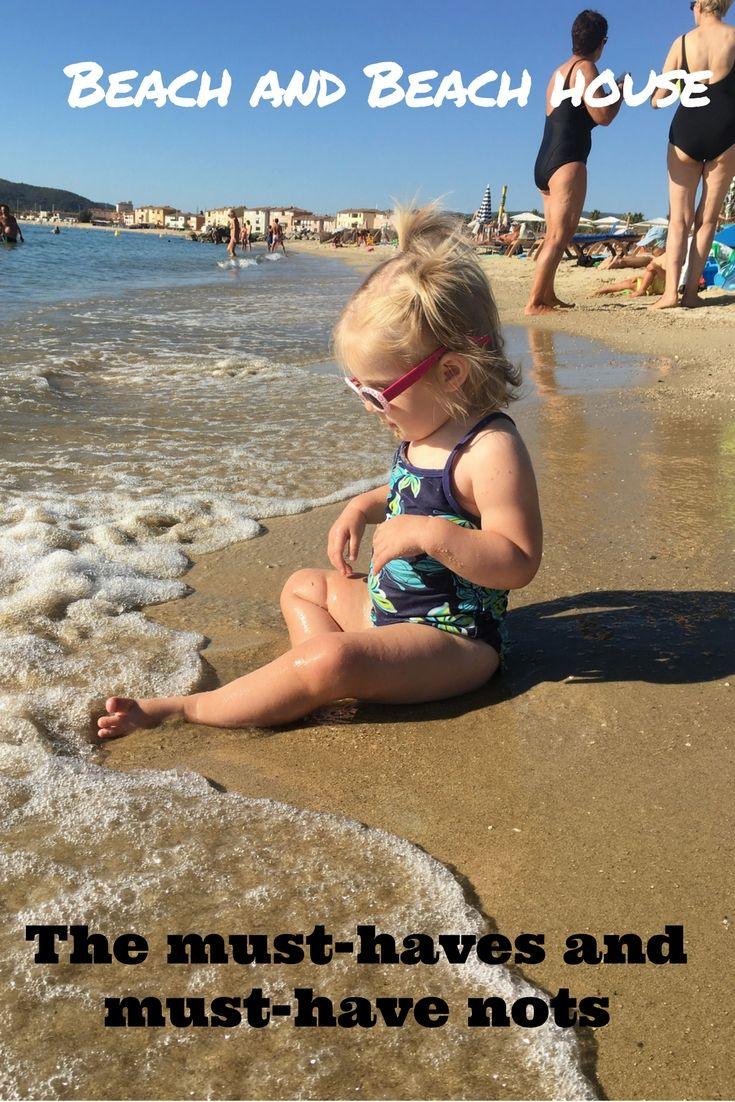 Can't decide what to take to the beach? Here is a handy list of beach and beach…