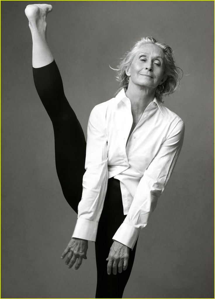 Twyla Tharp. Inspirational.