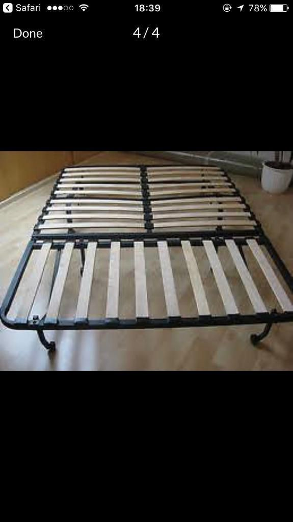 Fairly new Ikea double folding bed/Sofa bed for sale