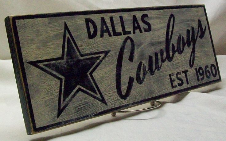 Dallas Cowboys sign by Rt66VintageSigns on Etsy https://www.etsy.com/listing/178171108/dallas-cowboys-sign