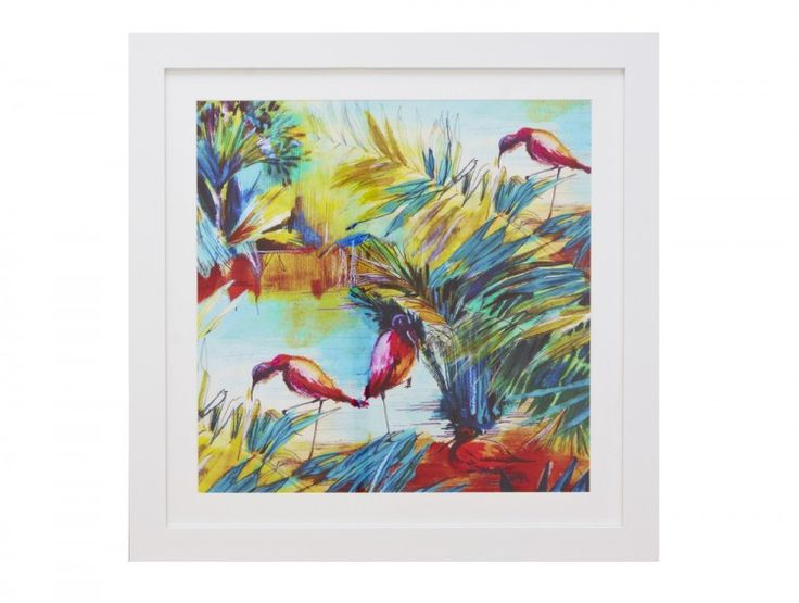 Botany Multicoloured Framed Art Print