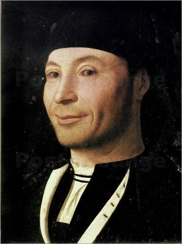 Antonello da Messina, Portrait of an Unknown Man, c. 1470, Museo Mandralisca, Cefalù