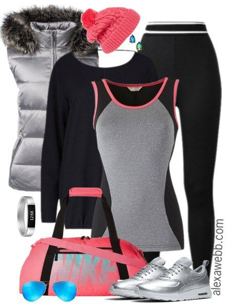 Plus Size Activewear Outfit - Plus Size Fashion for Women - alexawebb.com #alexawebb