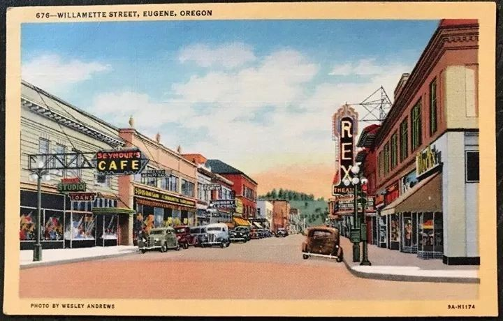 Pin By Jodie Ann Flanary On Old Eugene In Illustration Eugene
