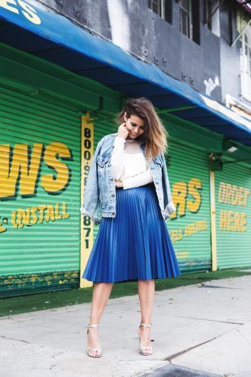 10 blogueiras mostram como usar saia mídi | MdeMulher