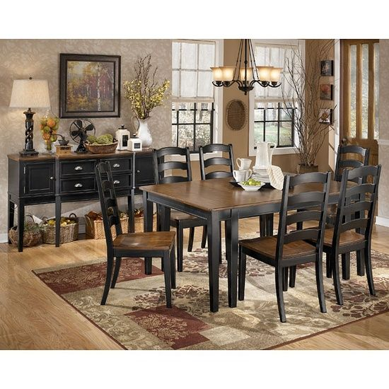 Ashley Furniture Tripton Medium Brown Dining Bench With Corner: 17 Best Images About Dining Tables On Pinterest