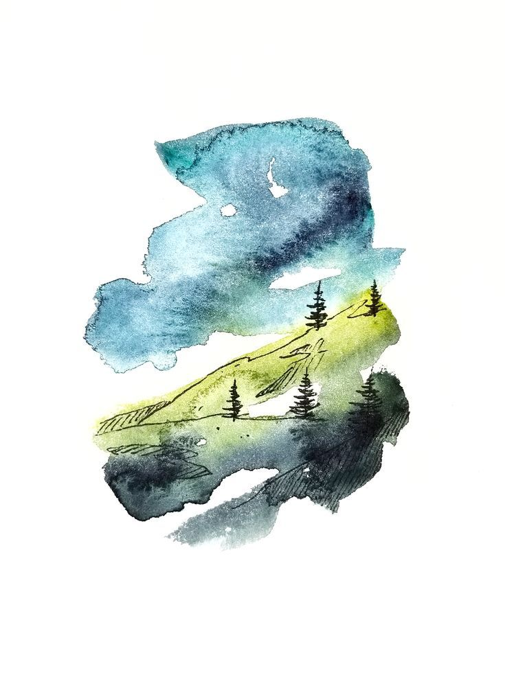 Reddit The Front Page Of The Internet Watercolor Background Art