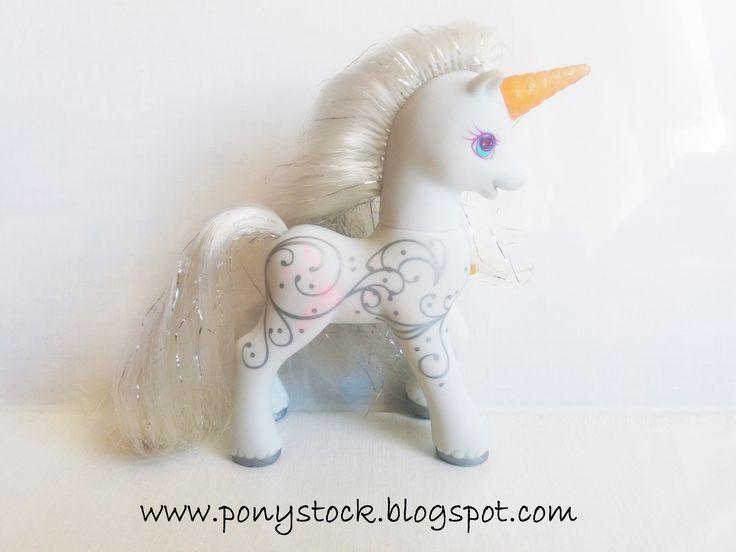 Princess Silver Swirl (Light Up Family Ponies 2000) G2 My Little Pony Hasbro