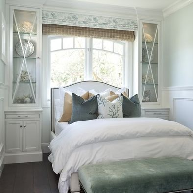 Amazing Gallery Of Interior Design And Decorating Ideas Of Headboard In  Front Of Window In Bedrooms, Girlu0027s Rooms, Boyu0027s Rooms By ...