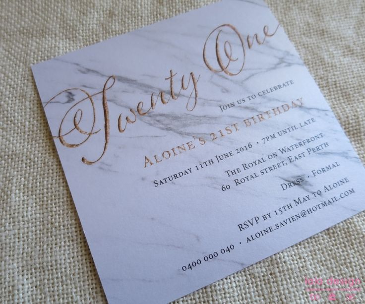 17 Best images about Female Birthday Invitations – Birthday Invitations Perth