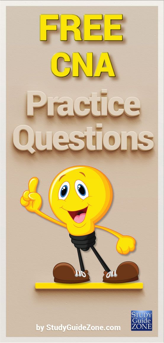 80 Best Cna Images On Pinterest Question And Answer Practice Exam