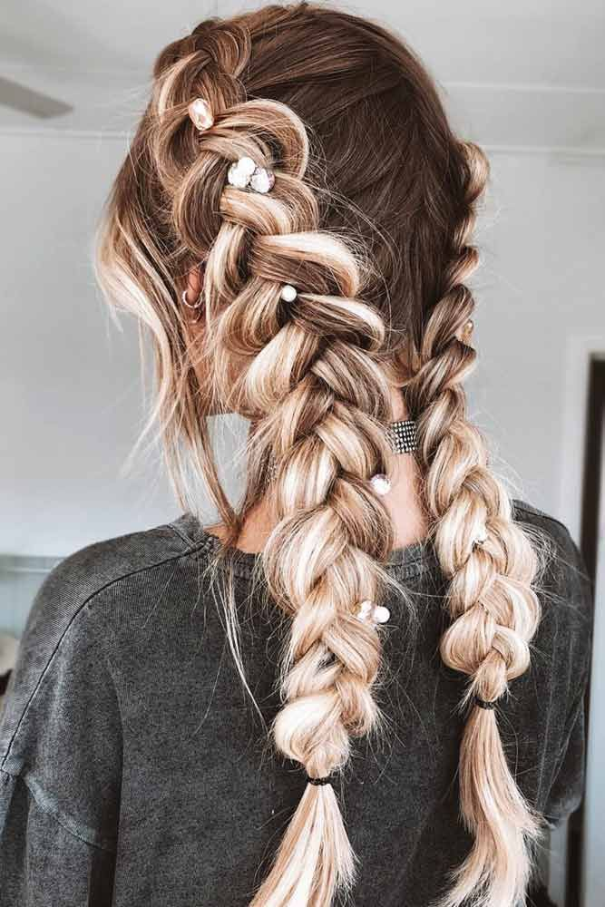 45 Easy Hairstyles For This Spring Break Lovehairstyles Com Braided Hairstyles Spring Hairstyles Easy Hairstyles