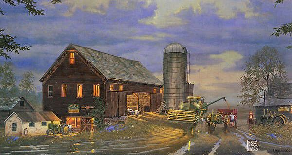 Girly John Deere Paintings : Best art dave barnhouse images on pinterest work