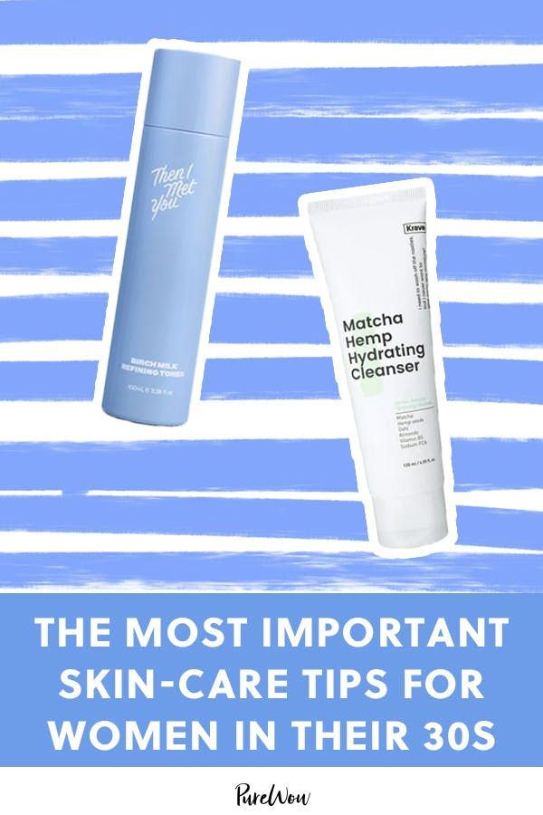 We Asked A Derm What Are The Most Important Skin Care Tips For Women In Their 30s Skin Care Tips Skin Care Aging Skin Care Diy