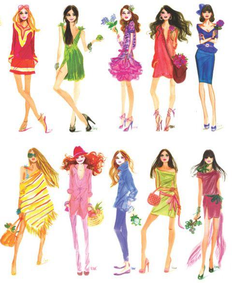 fashion illustrationsHenry Bendel, Fashion Models, Fashion Sketches, Fashion Drawing, Izak Zenou, New Fashion, Fashion Illustration, Girls Fashion, Henribendel Illustration