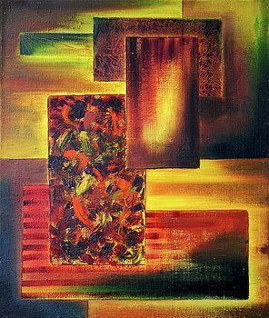 Abstrack Painting by Vilem Buchmann