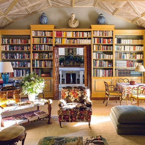 Are Lovely On Pinterest Libraries Home Libraries And Cozy Library