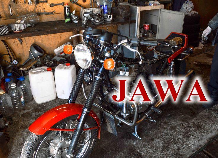 Мотоцикл ЯВА разбираем