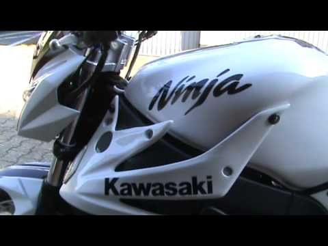 Superbike KAWASAKI ZX9R NINJA Streetfighter - Umbau - YouTube