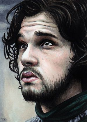 Game of Thrones - Jon Snow by Trev Murphy