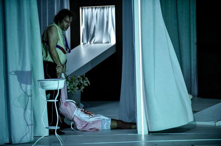 """theatergesehen: """"Die Affaere Rue de Lourcine, Deutsches Theater Berlin Director: Karin Henkel """""""