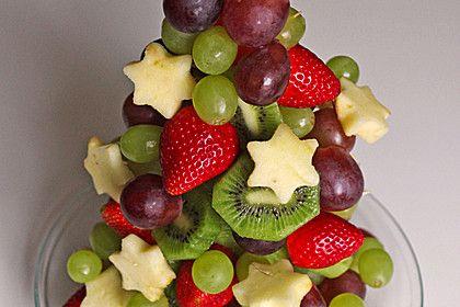 Obst-Weihnachtsbaum 1